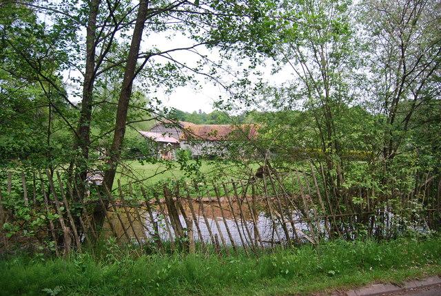 Pond by High Rocks Lane