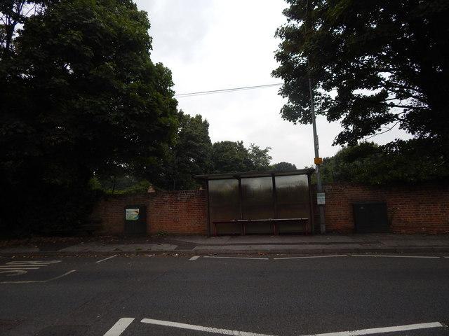 Bus stop opposite Heatherhayes
