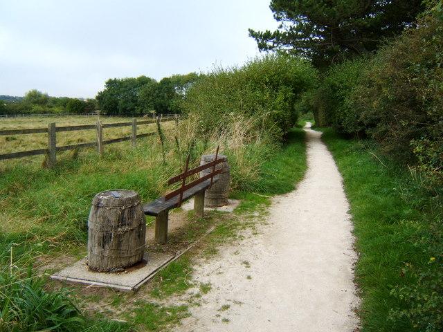Footpath near Highcliffe Manor