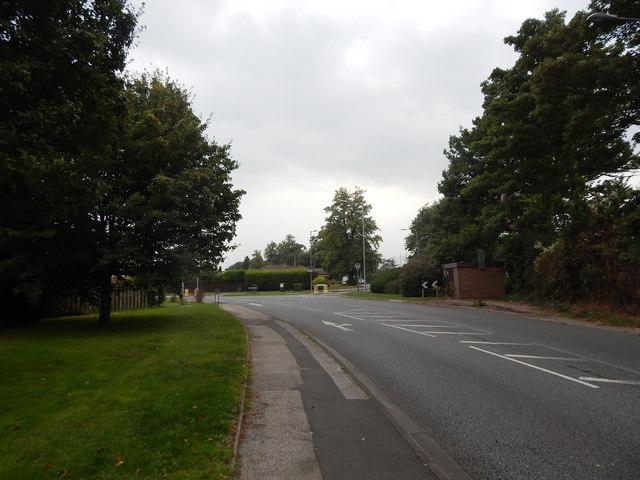 Belstead Road/Stoke Park Drive junction