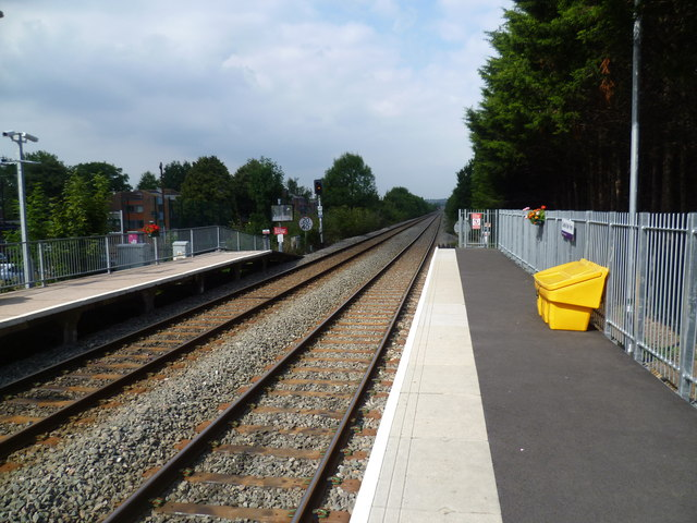 Castle Bar Park station