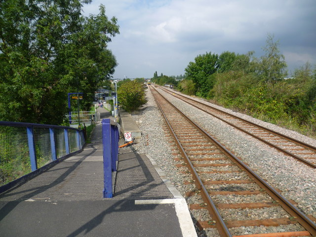 View from South Greenford station