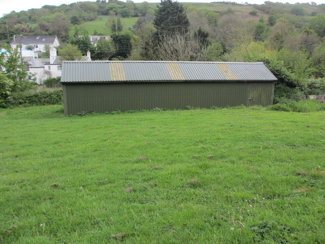 Gig shed, St. Goran Rowing Club