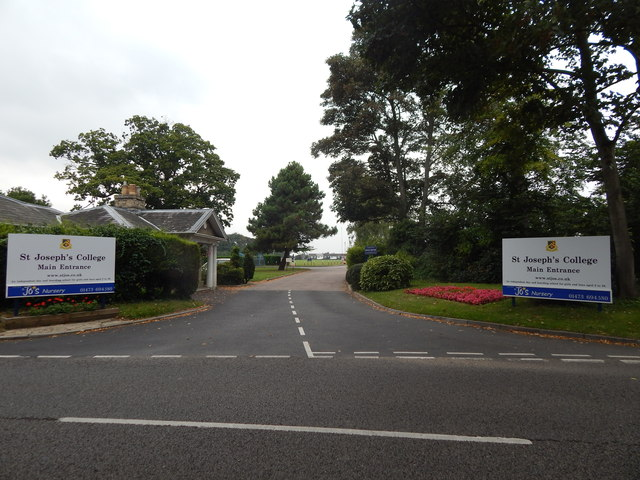 St Joseph's College entrance