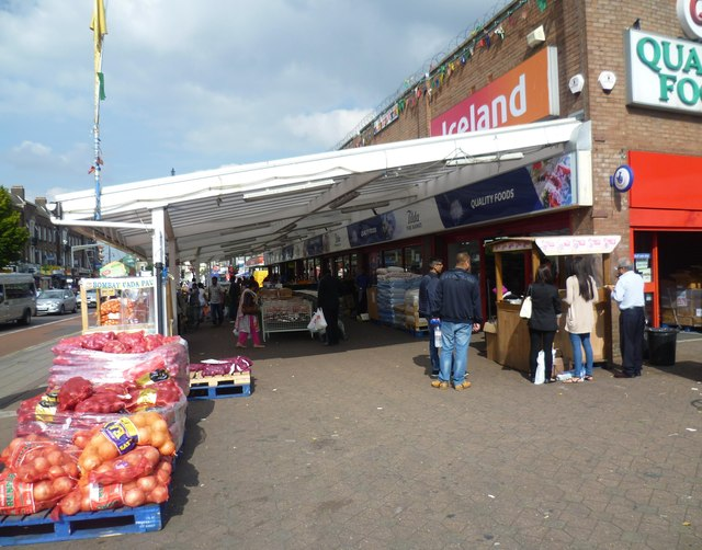 Indoor market, South Road, Southall