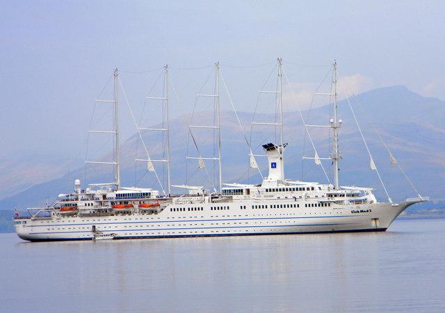 Club Med 2 off Oban