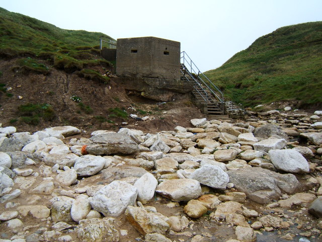 Pillbox, Thornwick Bay