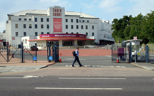 Earls Court Exhibition Centre, London SW5