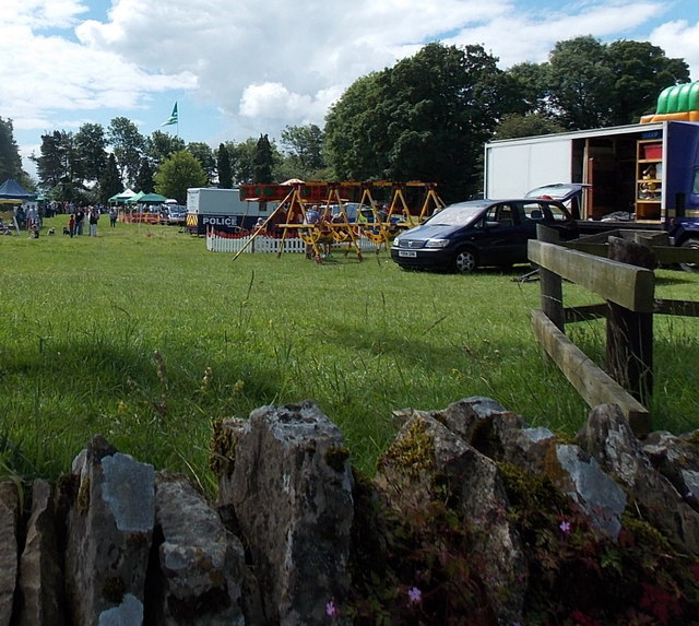 Northern edge of Miserden Country Fair and Pet Show
