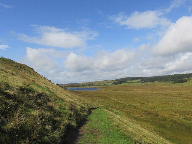Pennine way at Crag end.