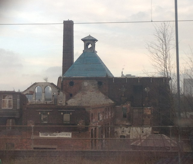 Remains of the Springfield Brewery