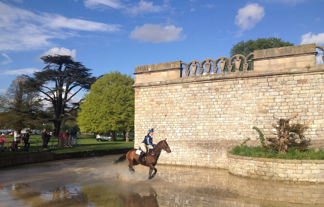 Chatsworth Horse Trials: Queen Mary's Bower
