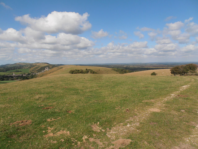Looking west from Rollington Hill