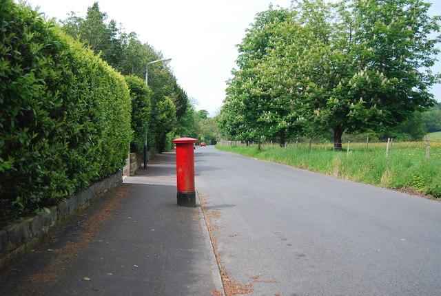 Postbox, Hungershall Park