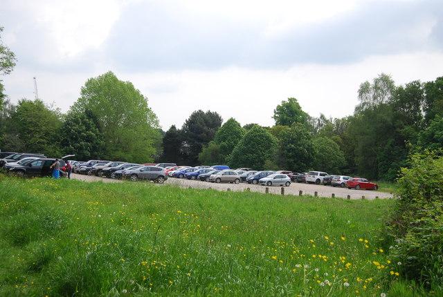 Car park, Tunbridge Wells Common