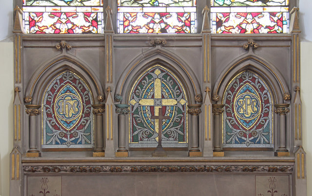 St John the Baptist, Hampton Wick - Reredos