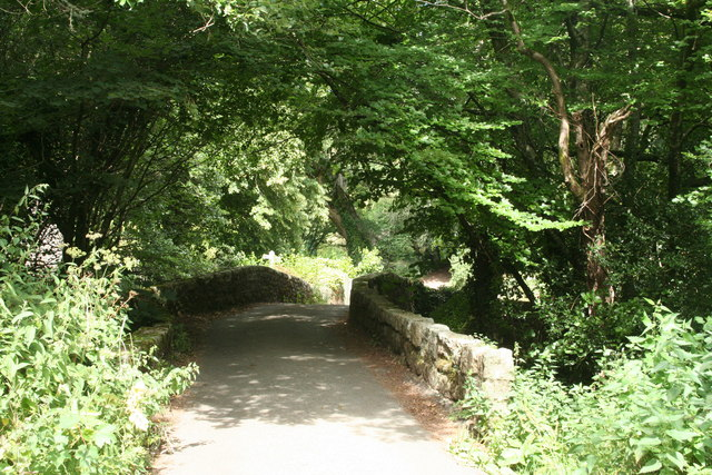 North Bovey: bridge over the Bovey