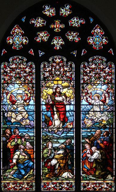 St John the Baptist, Hampton Wick - Stained glass window