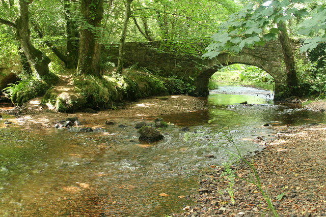North Bovey: the river Bovey
