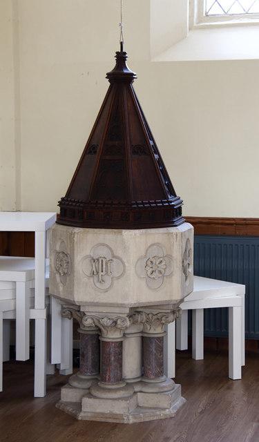 St John the Baptist, Hampton Wick - Font