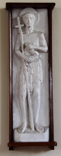 St John the Baptist, Hampton Wick - Sculpture
