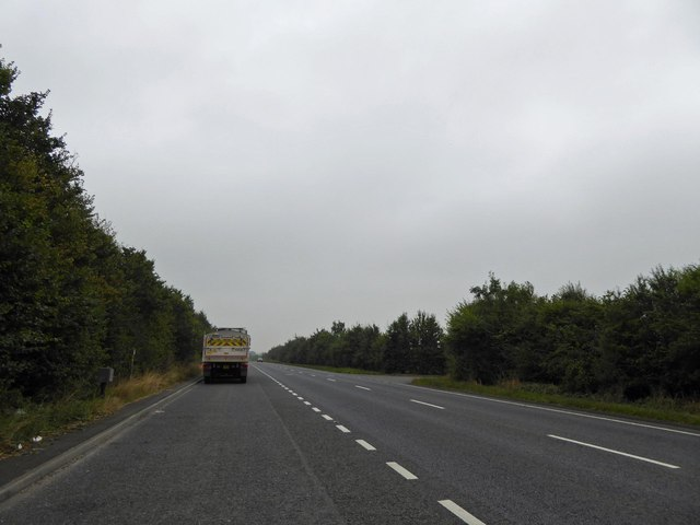 Layby on A15 Ermine Street (Roman Road)