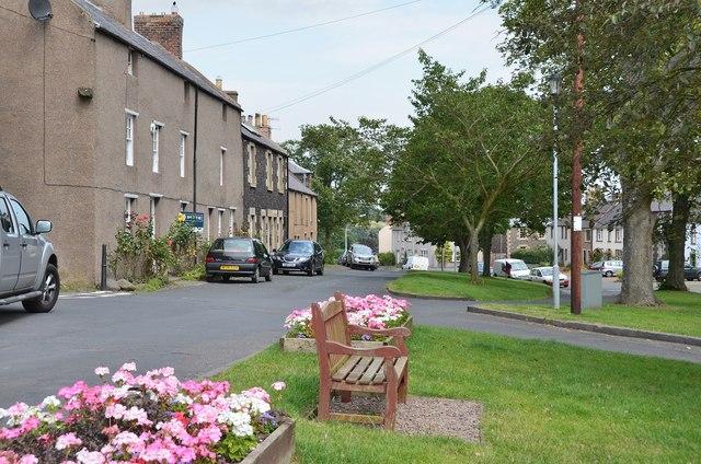 Village green, Town Yetholm