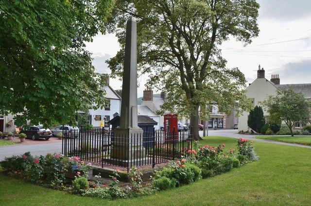 War memorial, Town Yetholm