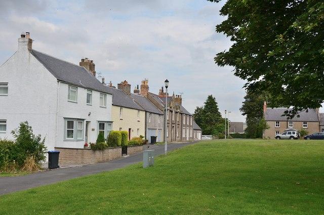 Village green, Kirk Yetholm