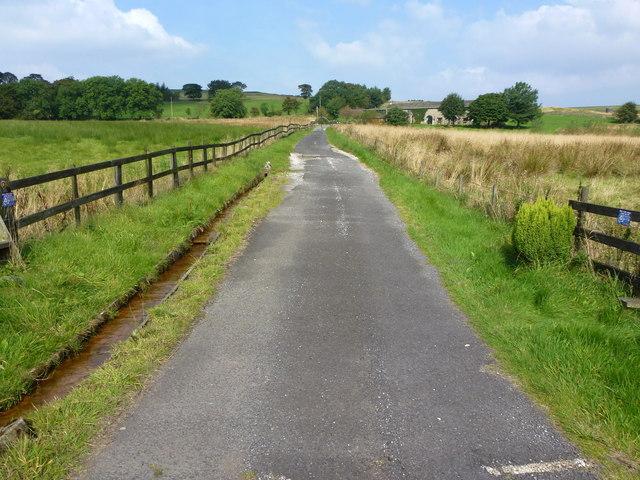 Track to Marsh Farm