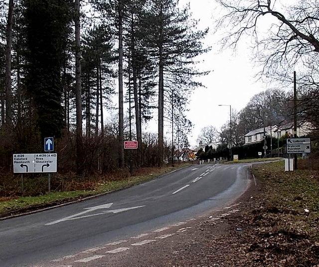 Split road splits again, Hawkwell