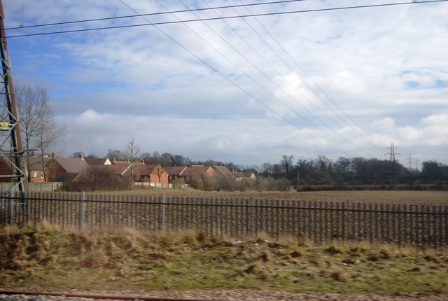 The edge of Welwyn Garden City