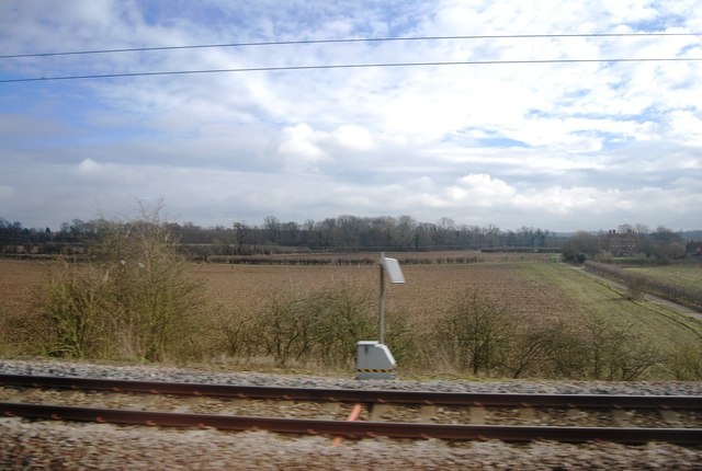 By the East Coast Main Line