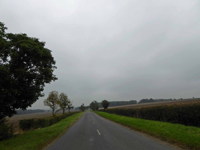 B1205 road to Caistor