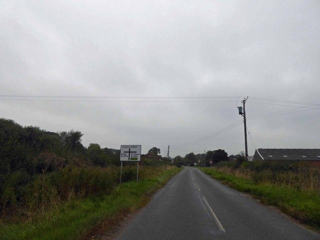 Moortown Junction ahead