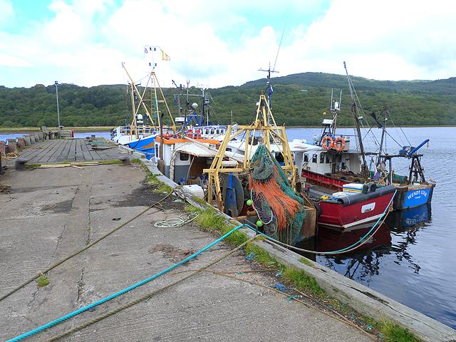 West Loch Pier, Tarbert