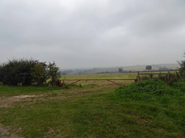A grey day on The Lincolnshire Wolds