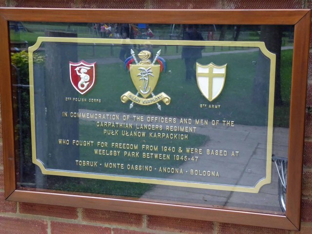 Information plaque for the Weelsby Bear