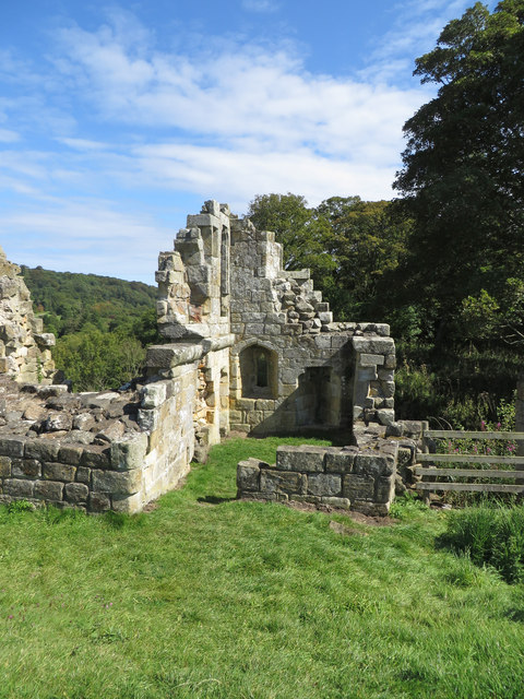 Ruins of the Guard Tower, Old Mulgrave Castle