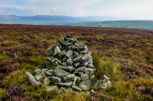 Cairn on Burn Moor Fell