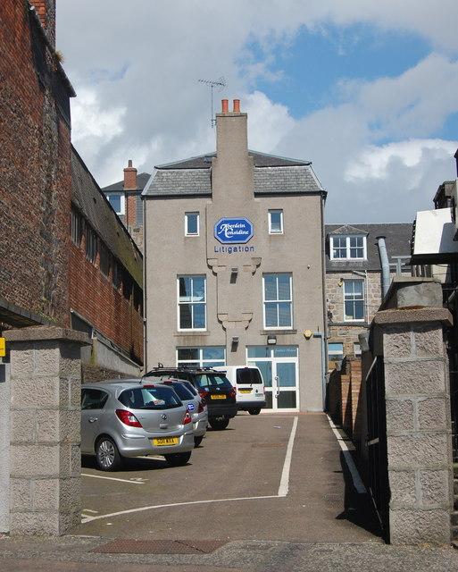 Justice Mill Lane, Aberdeen
