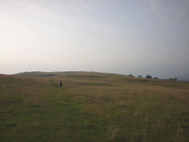 Public footpath on Cunswick Fell