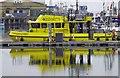 TA2810 : Survey boat reflections by Steve  Fareham
