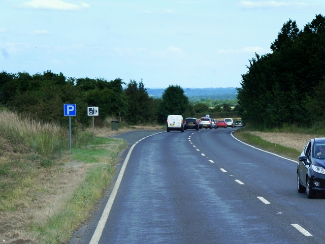 Layby on Kingsclere Road (A339)