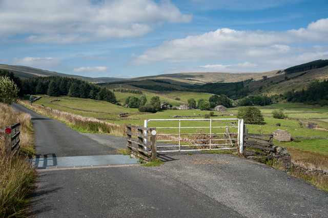 Cattle Grid and Cotterdale