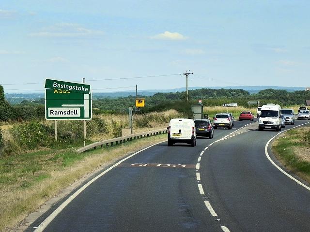 A339, Kingsclere Road