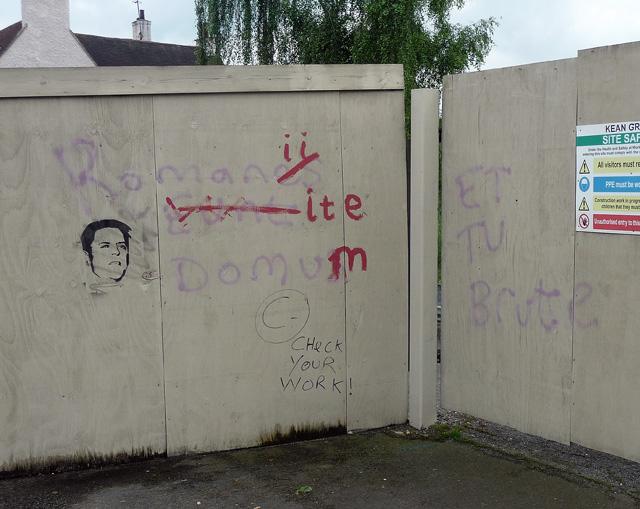 Graffiti, Southwell