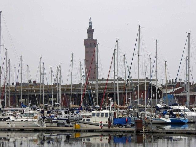 Grimsby docks marina