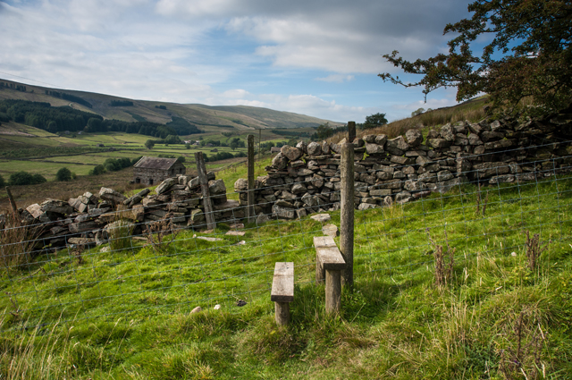 Footpath into Cotterdale