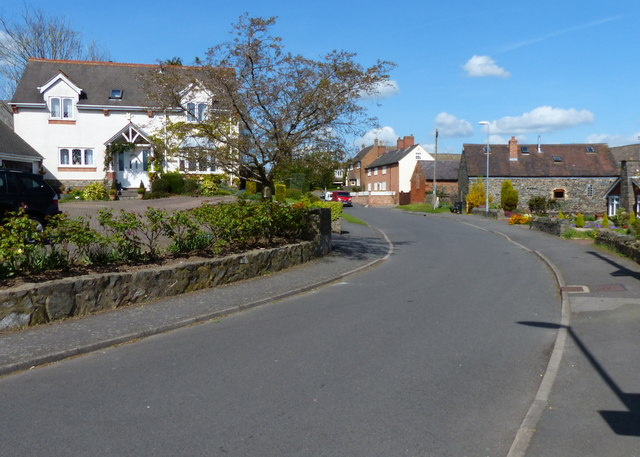 Church Lane in Ratby